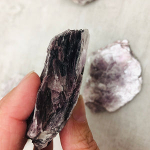 "Lepidolite ""The Pollution Eliminator"""