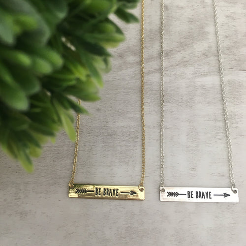 Dainty Necklace | Be Brave