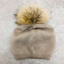Cashmere Touque with Pom