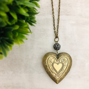 Necklace | Locket Heart