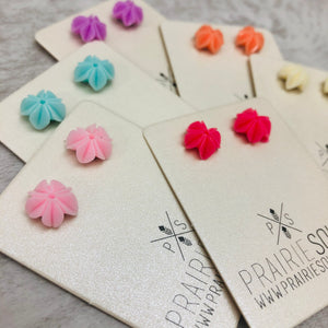 Flower Earring | Magnetic - for non pierced ears