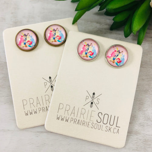 Graphic Earrings | Princesses