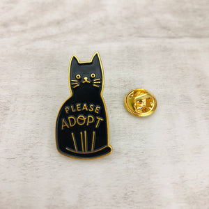 Pin Cat Please Adopt