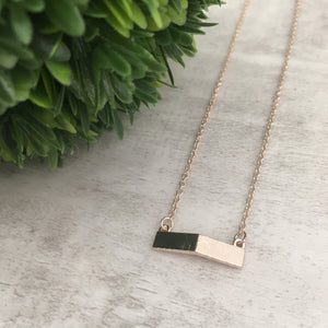 Dainty Necklace | Bent Bar