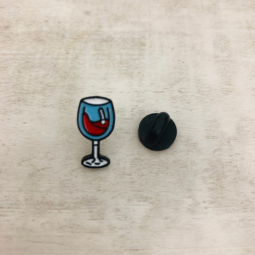 Pin Wine Glass