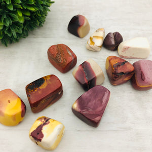 "Mookaite ""The Beauty Stone"" Stone Tumbler"