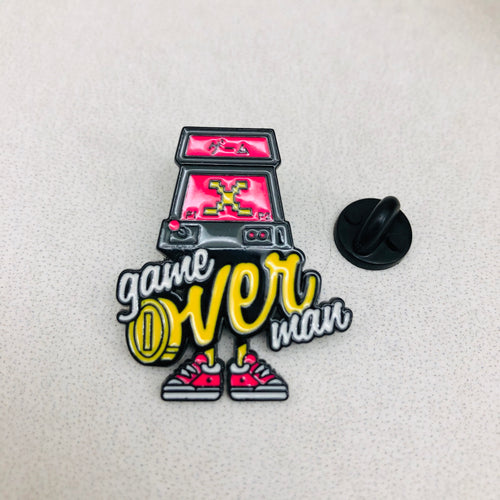 Pin Game Over Arcade Game