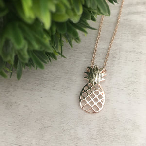 Dainty Necklace | Pineapple
