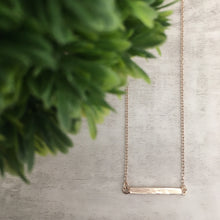 Dainty Necklace | Bar