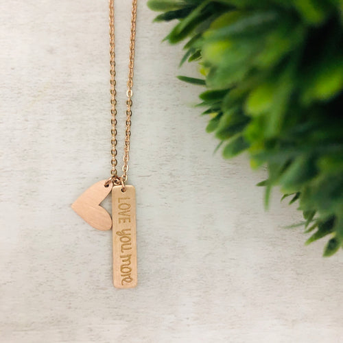 Dainty Necklace | Love You More