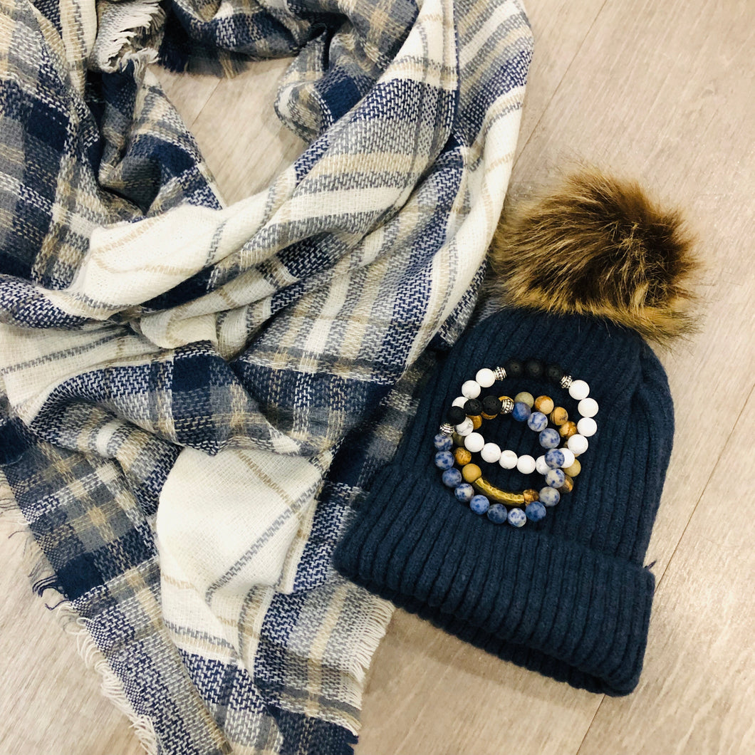 Triangle Blanket Scarf | The Original Blue Jean Scarf