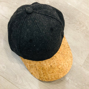 Dad Hat | Cork Charcoal