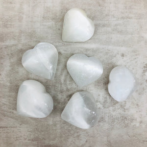 "Selenite Heart ""The Re-charger"""