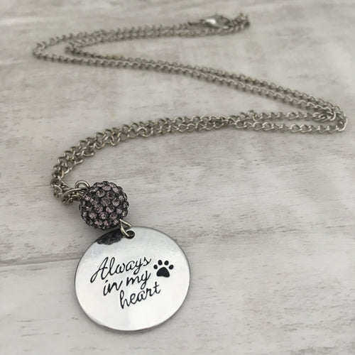 Necklace | Always in my Heart Paw