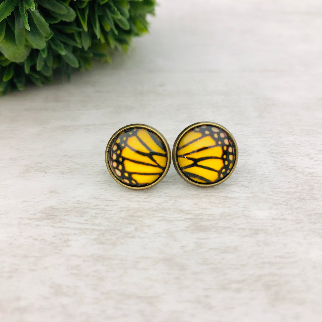 Graphic Earrings | Butterfly Wings