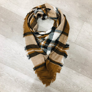 Triangle Blanket Scarf | Browns