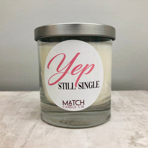 Match Soy Candle Cotton or Wood Wick | Valentines