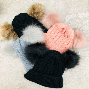 Child Double Pom Touque