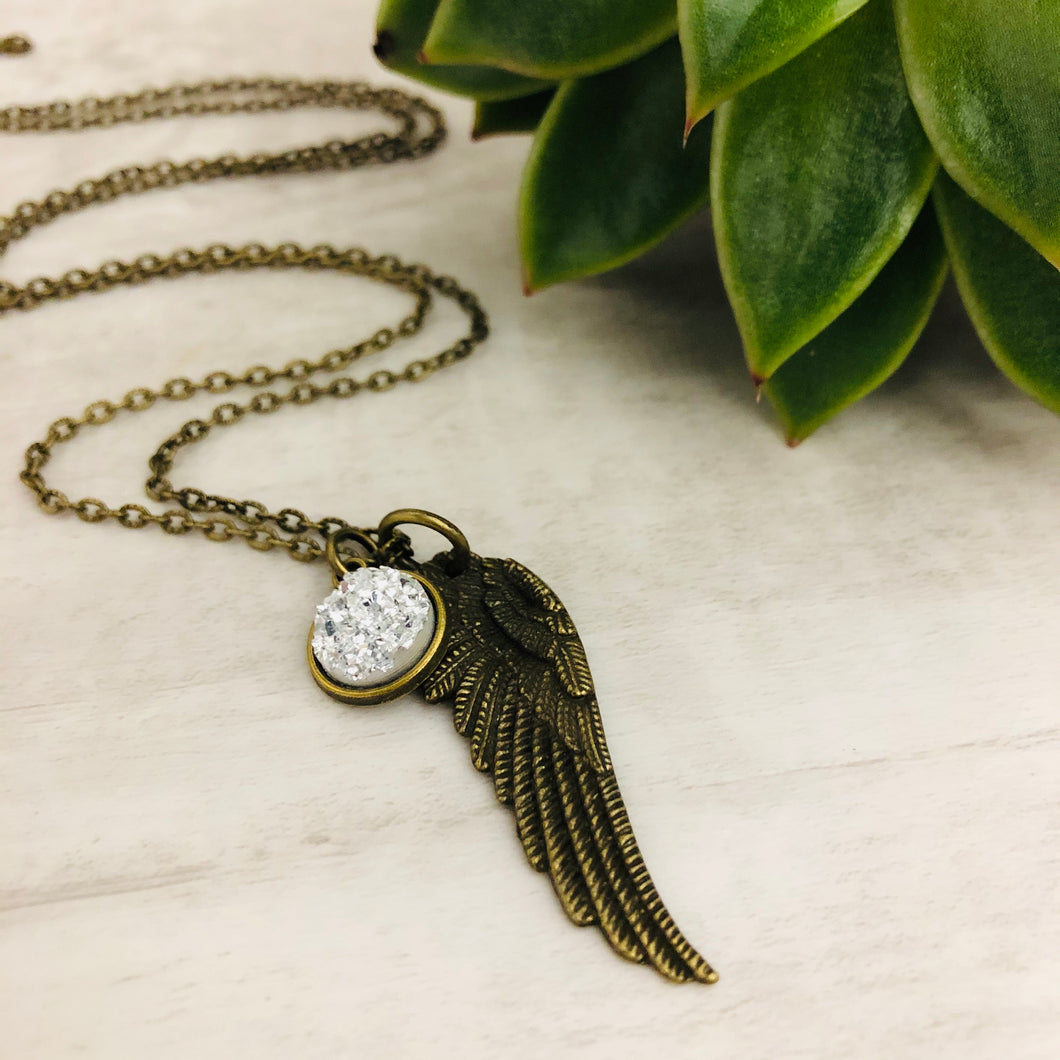 Angel Wing 2 Necklace