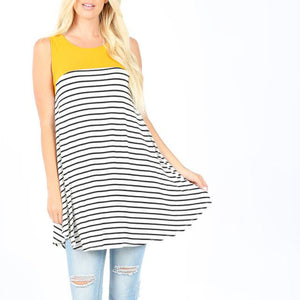 Tunic Striped with Pockets