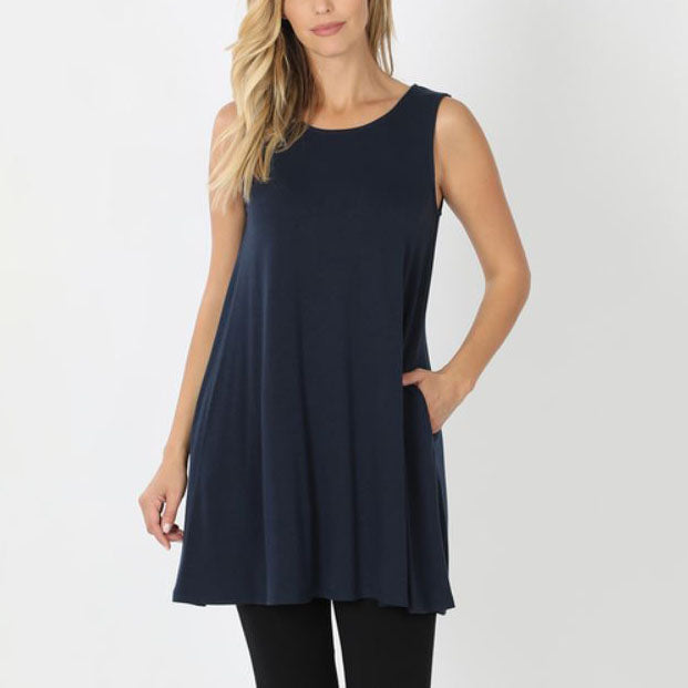 Tunic Solid with Pockets 33