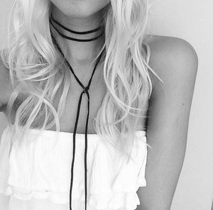 Choker necklace | long