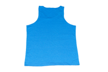 Neon Blue Domitrick Media Tank (Youth)
