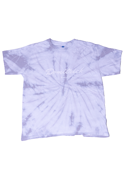 Silver Tie-Dye Domitrick Media T-shirt (Youth)