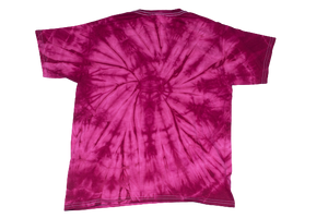 Red Tie-Dye Domitrick Media T-shirt (Youth)