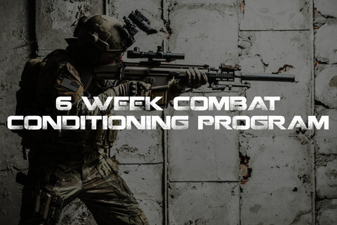 Warfighter Athletic 6 Week Combat Conditioning Program for military preparation