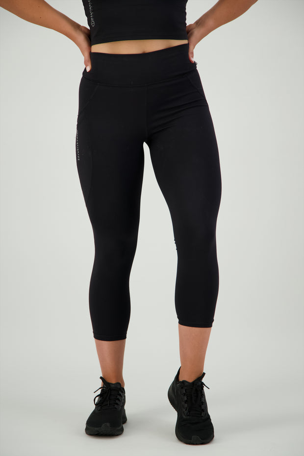 Warrior Athlete Leggings - Black