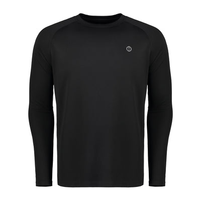 Warrior Athlete LS Tee - Black