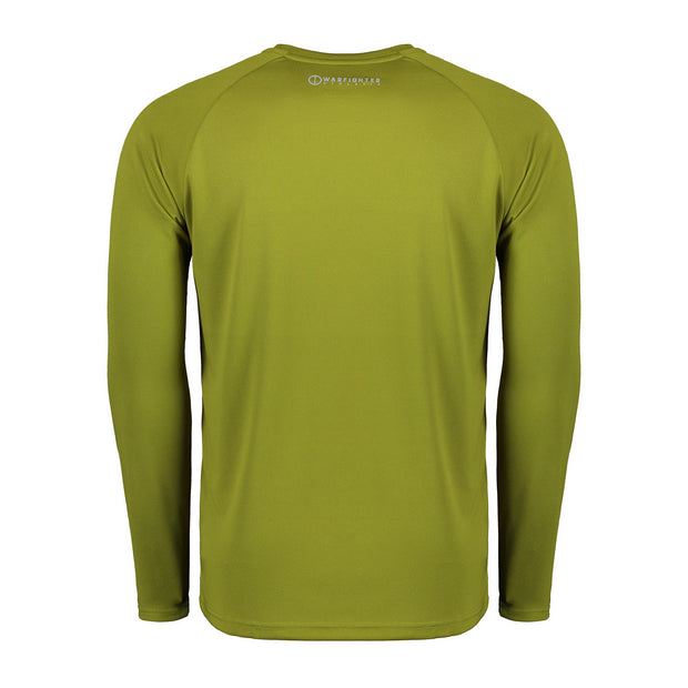 Warrior Athlete LS Tee - Jungle Green