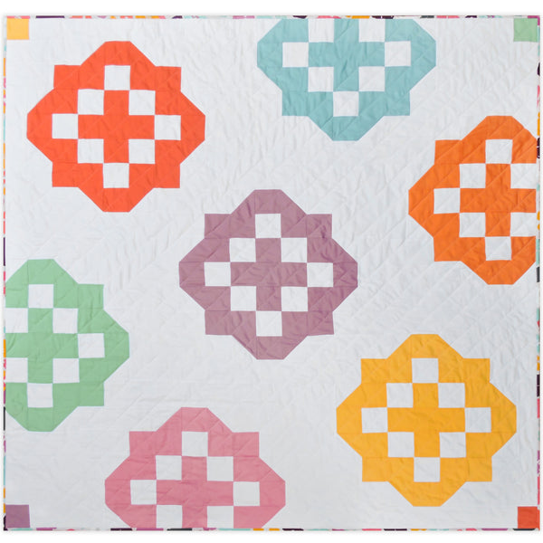 Backsplash quilt pattern