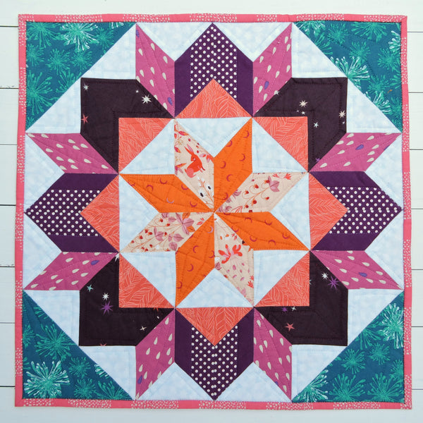 Carpenter's Diamond EPP Quilt Kit