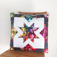 Fat quarter friendly star cushion pattern