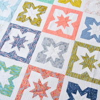 Fat quarter friendly star quilt pattern