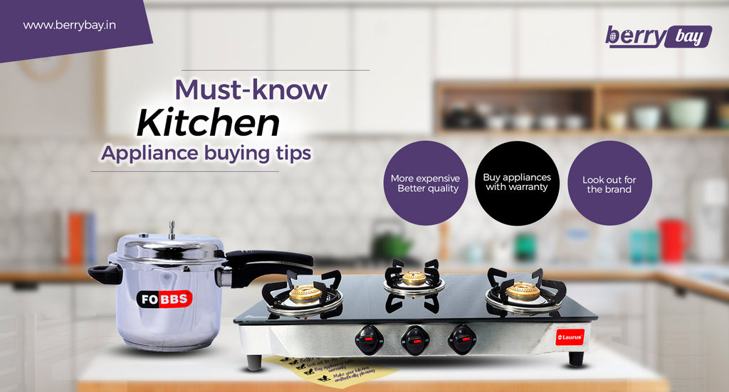 Must-Know Kitchen Appliance Buying Tips