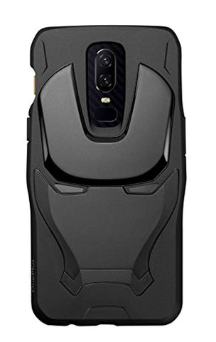 OnePlus Marvel Avengers Iron Man TPU Case for OnePlus 6 (Black)d