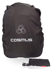 Cosmus 50 Ltrs Black Rain & Dust Black Pack Cover