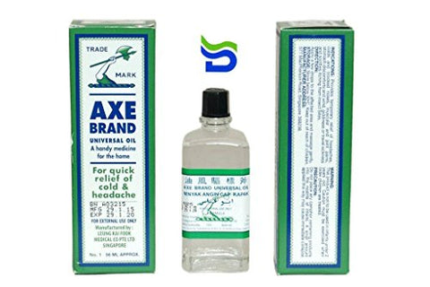 Axe Oil for Instant Pain, Cold and Headache Relief, 56ml