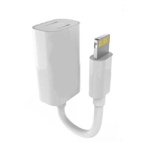 2 in 1 Lightning Adapter/ Charging Cable For iPhone 7 / 7 Plus / 8