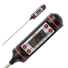 Digital Lcd Cooking Food Meat Probe Kitchen Bbq Thermometer Temperature Test Pen| Instant read|