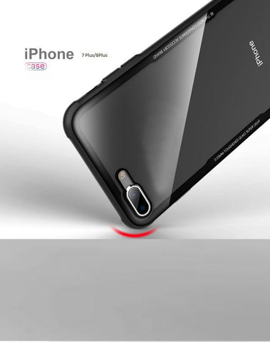 Shadow Securitronics 2 in 1 Ultra Hybrid TPU & Clear Case Premium quality iphone 7/8 plus