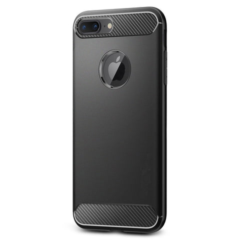 Rugged Armor iPhone 8 Plus () Mobile Phone Back Cover Case Shock Proof  -Black