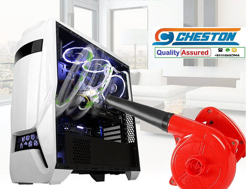 Cheston Heavy Duty Electric Air Blower 65 Miles/Hour Leaf PC Blower Cleaner 500W 13,000 Rpm Air Flow 2.2 M3/Min