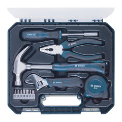 Hand Tool Kit (Blue, 12 Pieces)