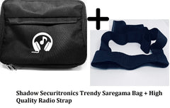 Saregama Carvaan Portable Digital Music Player Bag Accessories with remote holding
