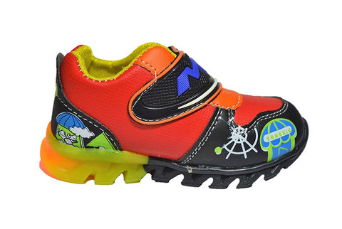LED Light Shoes for Kids - Green, Blue & RED(12-18 Months, 18-24 Months & 2-2.5 Years)