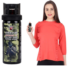 Commando Advanced -2X Super Strong Military Strength  Pepper Spray